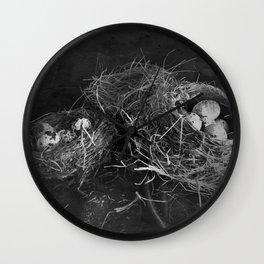 Three Nests Wall Clock