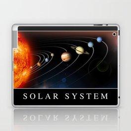 Solar System Poster Laptop & iPad Skin