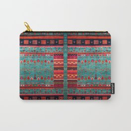 Anthropologie Ortiental Traditional Moroccan Style Artwork Carry-All Pouch