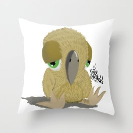 Fly Birdie Fly. /// Throw Pillow