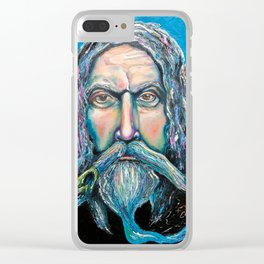 KEEPER OF THE WOOD Clear iPhone Case