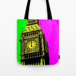 Big Ben - In all her coloured glory... Tote Bag