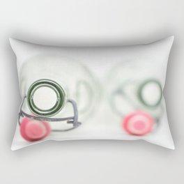 Empty couple... Rectangular Pillow