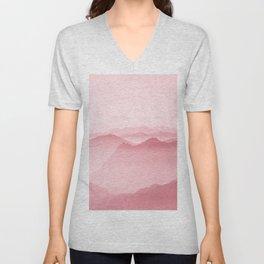 Pink Forest Unisex V-Neck