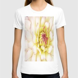 White Floral Delight . T-shirt