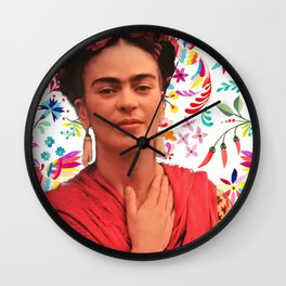 Otomi frida Wall Clock