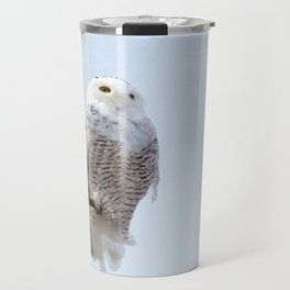 Lofty Vision (Snowy Owl) Travel Mug