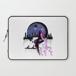 Black Lady (Chibiusa) night moon city Laptop Sleeve