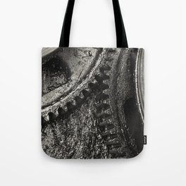 Greasy Gears Tote Bag