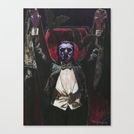 Count Dracula 1931 Bela Lugosi Canvas Print
