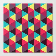 Isometrix 018 Canvas Print