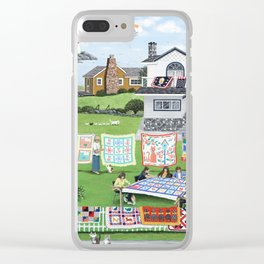 Cat Lovers Society Clear iPhone Case
