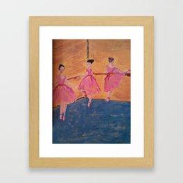 ballerine Framed Art Print