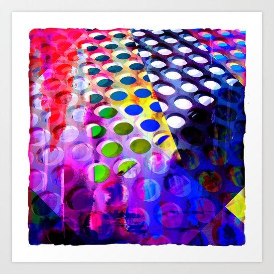Spotology Art Print