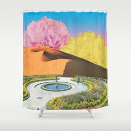 Yearning for Spring Shower Curtain