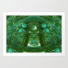 Abstract Gazebo Art Print