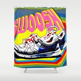 Swoosh Shower Curtain