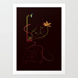 Lifeblood Art Print