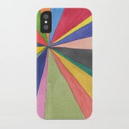 Watercolor Pinwheel Robayre iPhone Case