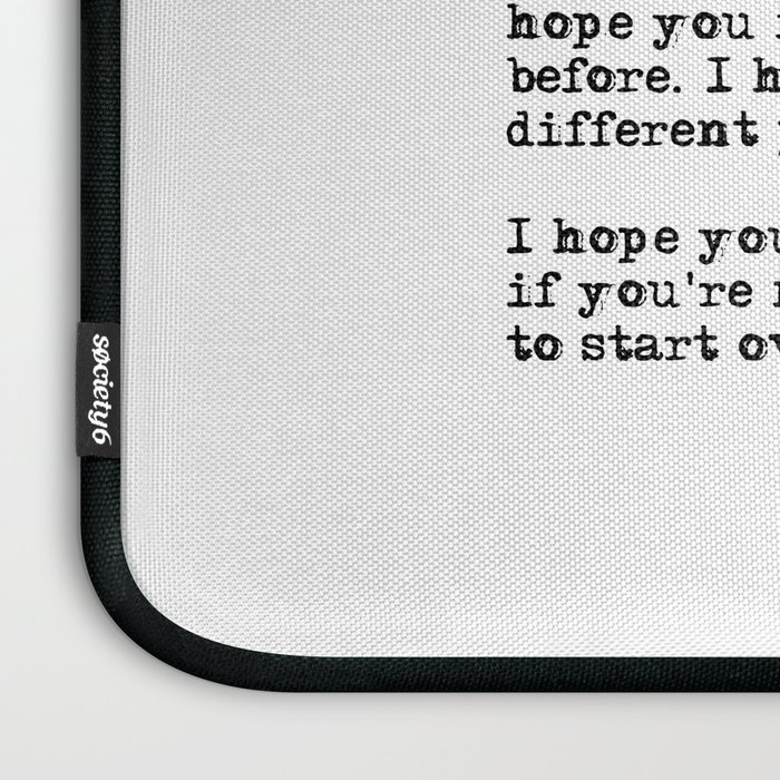 for what its worth f scott fitzgerald quote laptop