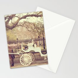 New Orleans Carriage Ride Stationery Cards