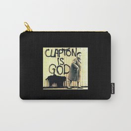 Clapton is God Carry-All Pouch