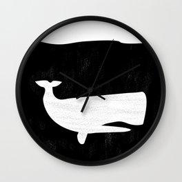 Deep Dark Ocean Wall Clock