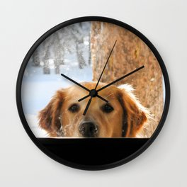Whacha Doin'? Wall Clock