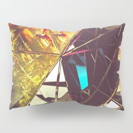 Fractured Time Pillow Sham