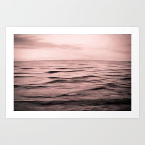 About the Sea II Art Print