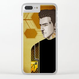 Hyperion Poster Boy Clear iPhone Case