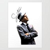 frank sinatra Art Prints featuring Frank Sinatra by BAS~