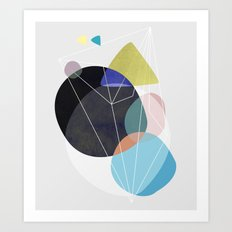 Graphic 173 Art Print