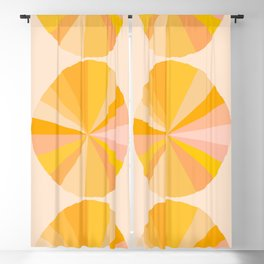 Abstraction_YELLOW_SUNLIGHT_Minimalism_001 Blackout Curtain