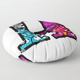 initial H Floor Pillow