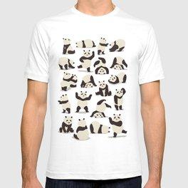 Pandas Party T-shirt