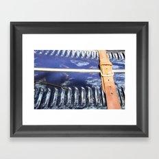 Belted Framed Art Print