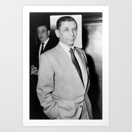 Meyer Lansky Photo - 1958 Art Print