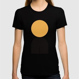 Abstraction_NEW_SUNLIGHT_YELLOW_POP_ART_Minimalism_001Y T-shirt