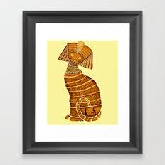 Sphinx Framed Art Print