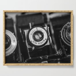 Classic Cameras. Serving Tray