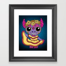 Cucuy Folkorico Dancer Framed Art Print