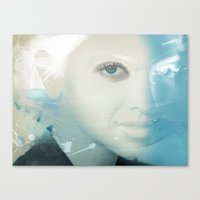 virgo Canvas Prints featuring Virgo by Vin Zzep