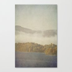 Fog and Color Canvas Print