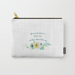 Pride and Prejudice, Jane Austen Carry-All Pouch