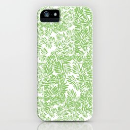 Leaves Everywhere iPhone Case
