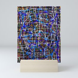 Separation Divides Infinity Mini Art Print