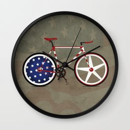 Bike America Wall Clock