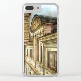 Swannanoa Palace Clear iPhone Case