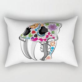 Day of the extinct: Sabretooth Rectangular Pillow